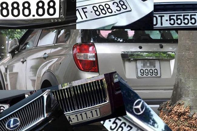 Đề xuất đấu giá biển số xe đẹp để tăng thu ngân sách - Ảnh 1.