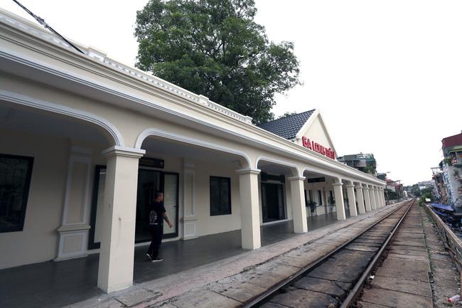Ngỡ ngàng hình ảnh nhà ga Long Biên hơn trăm năm tuổi 'khoác áo mới' - Ảnh 11.