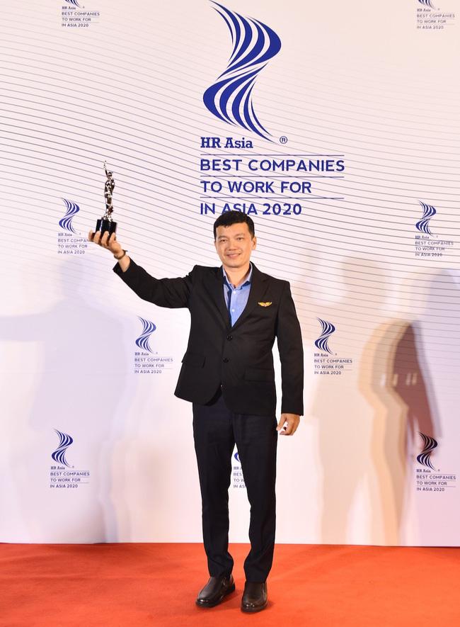 """Vietjet tiếp tục đoạt giải thưởng """"Nơi làm việc Tốt nhất châu Á"""" - Ảnh 3."""