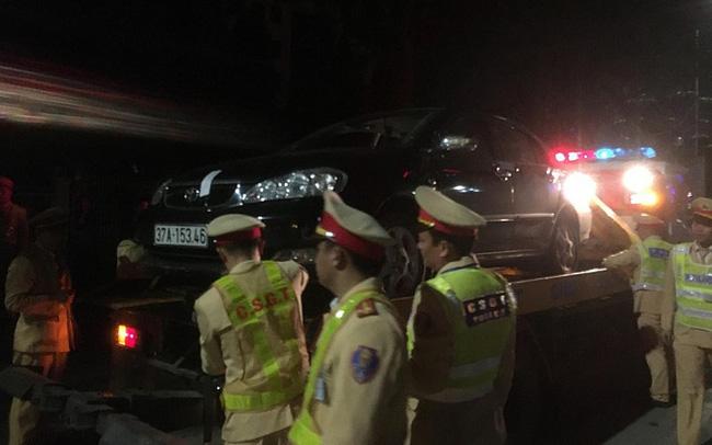 Bắc Ninh: Một lái xe bị xử phạt gần 50 triệu đồng, tạm giữ xe 2 tháng - Ảnh 1.