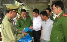Nghệ An: Phát hiện xưởng sản xuất khẩu trang không đạt chuẩn