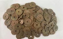 Hà Tĩnh: Phát hiện gần 100kg tiền cổ  có niên đại từ triều Nguyễn