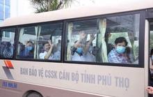38 bác sĩ, điều dưỡng của Phú Thọ vào Quảng Nam hỗ trợ khống chế dịch Covid-19