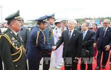 Tổng Bí thư Nguyễn Phú Trọng kết thúc tốt đẹp chuyến thăm cấp Nhà nước Vương quốc Campuchia